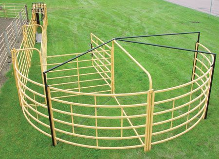 Priefert's Cattle Cage provides a convenient and economical option for the  secure containment of cattle.