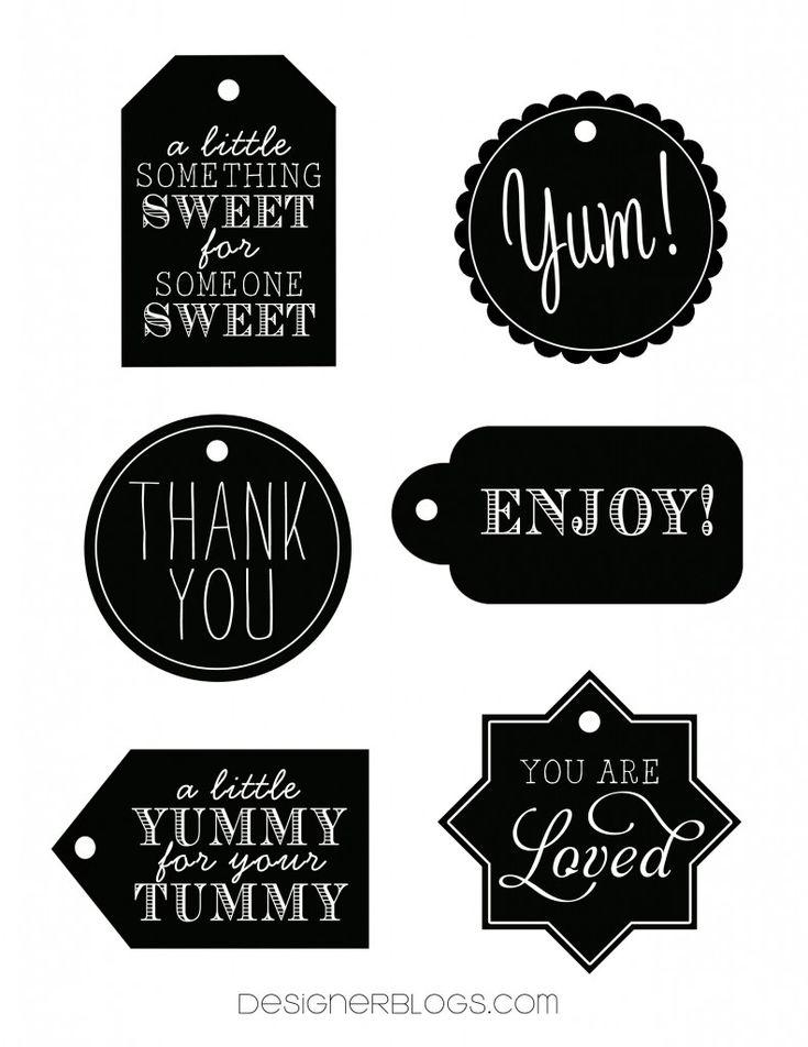 Best 25+ Free printable tags ideas on Pinterest | Free printable ...