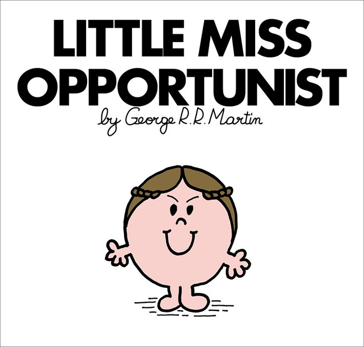 Mr. Men and Little Miss Game of Thrones characters - Little Miss Margaery Tyrell