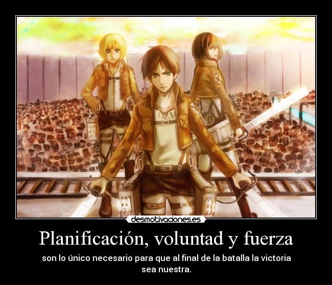 CarteleS: anime manga otaku Shingeki Kyojin Ataque a los Titanes