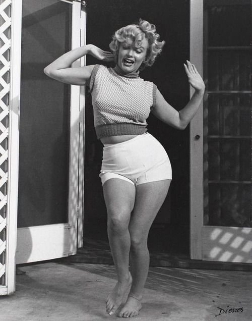 Marylin Monroe. She paved the way for women with curves. Thank you. We are all equally lovely, but baby you took the cake.