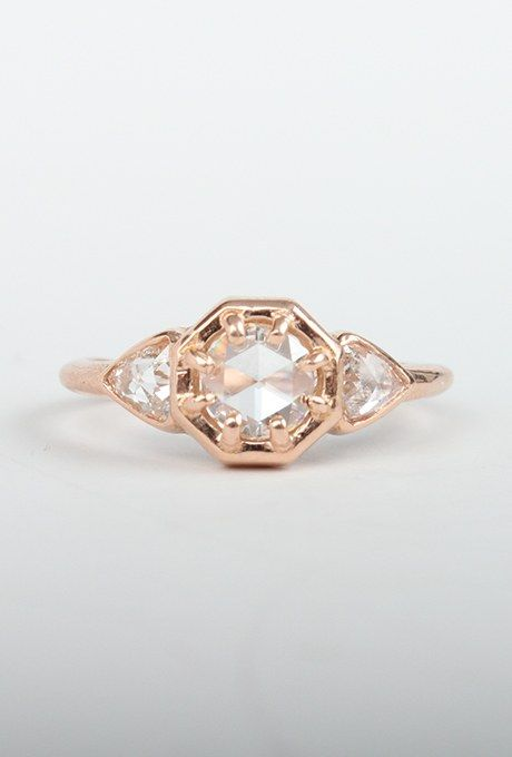 """""""Cleopatra"""" ring, $3,540, Lauren Wolf available at Catbird"""