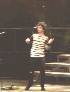Do yourself a favor and click on this GIF. I'm laughing so hard I can't SEE. Billie has got some killer moves