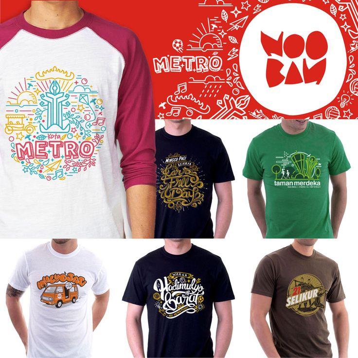 Hal itu dilakukan Aditya dengan memasukkan nama-nama daerah di Metro dalam desain kaus. Alhasil, itu menjadi ciri khas Nooban T-Shirt.