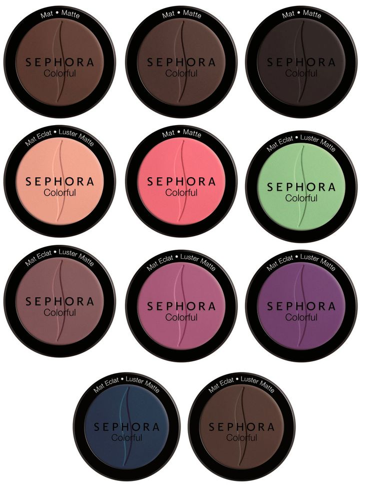 sephora colorful eyes ombretti opachi