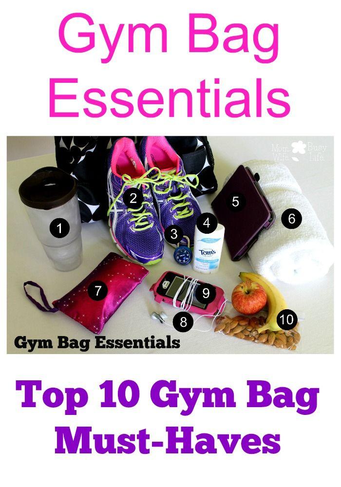 Gym Bag Essentials: Top 10 Gym Bag Must-Haves http://buildinghealth.isagenix.com/