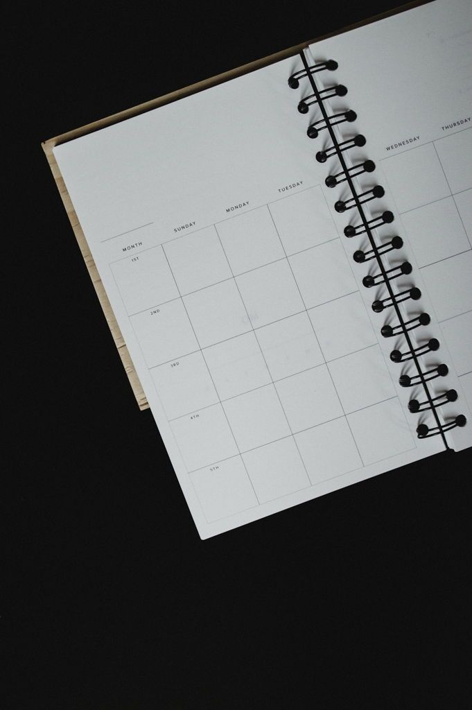 open dated planner studio ease any year planner yearless planner