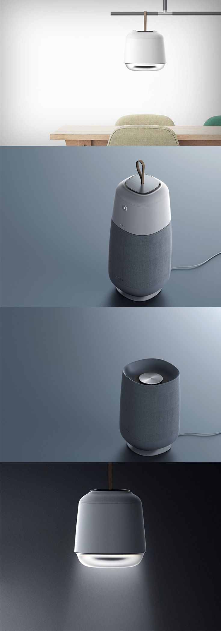 The 'Belyse air purifier' is a part of that era of products that celebrates 'form follows emotion'... READ MORE at Yanko Design !
