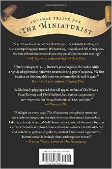 The Miniaturist: A Novel: Jessie Burton: 9780062306814: Amazon.com: Books