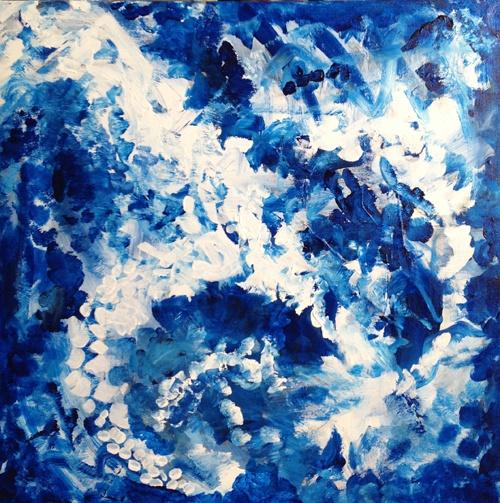 Winds of Change / Brenda Nachreiner 2013 / Acrylic on Canvas / Copyright 2013 http://brendanachreiner.com/