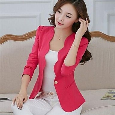This blazer is so unique.  It comes in tons of different colors too <3
