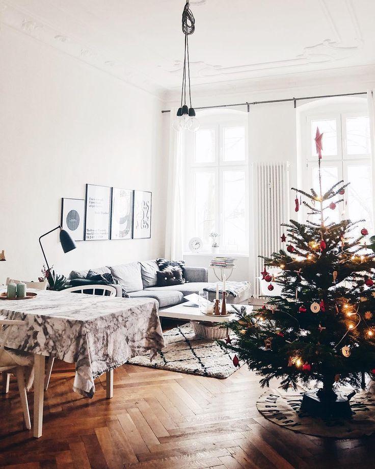 god jul der scandi style verleiht jeder weihnachtstafel. Black Bedroom Furniture Sets. Home Design Ideas