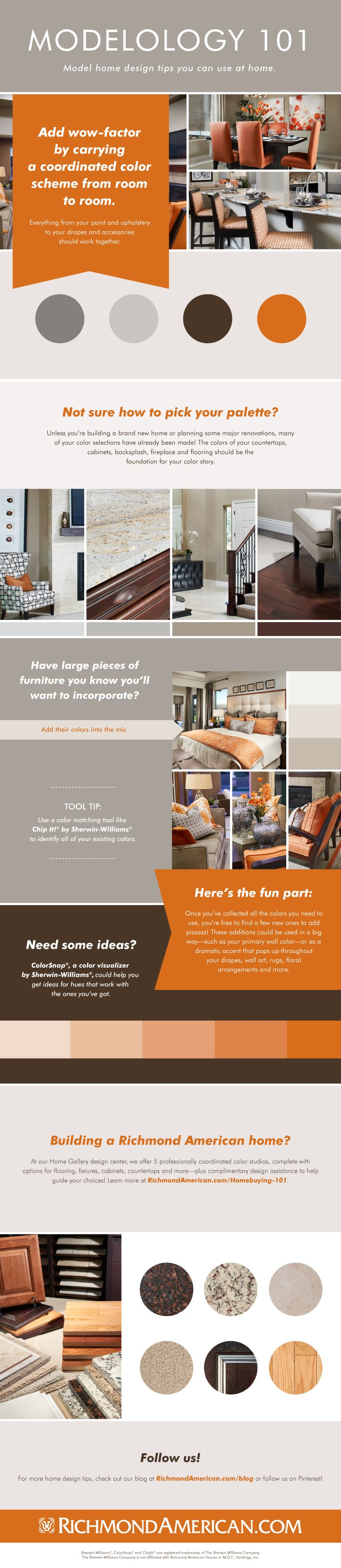 Colour by numbers richmond - Tips For Coordinating Your Home S Color Palette Richmond American Homes Blog