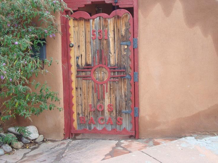 Santa Fe Door, Santa Fe, NM Oct 2009