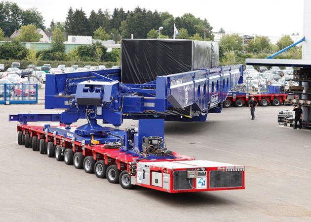 Oversized heavy haul trucking services
