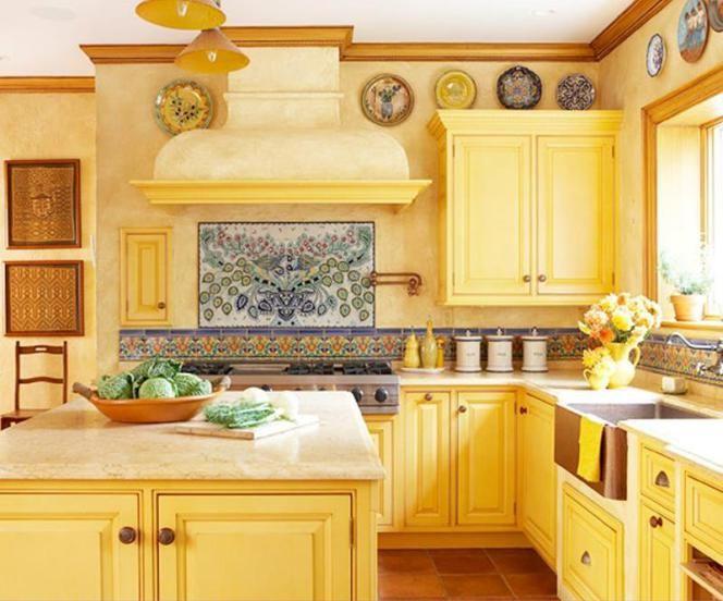 Die besten 25+ Gelbe küchenfliesen ideen Ideen auf Pinterest - rote kuche gelbe wand
