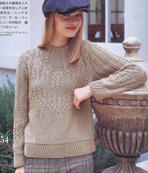别致套衫 - 编织幸福 - 编织幸福的博客