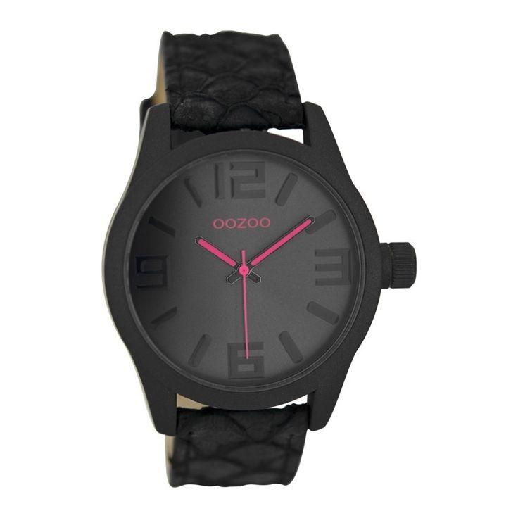 OOZOO Timepieces horloge Zwart Snake C7219 (41 mm)