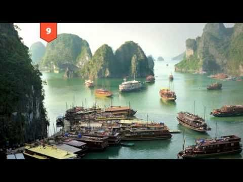 Top 25 places to visit