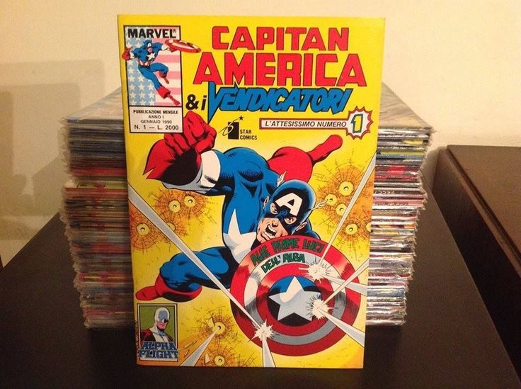 CAPITAN AMERICA & I VENDICATORI - 1/40 - STAR COMICS