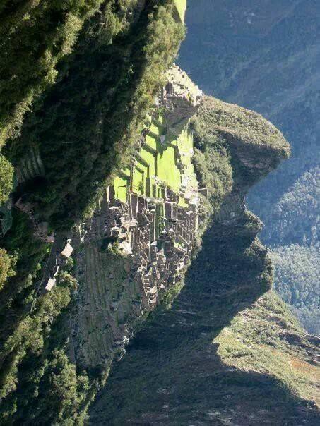 La cara del Inca, Machu Pichu
