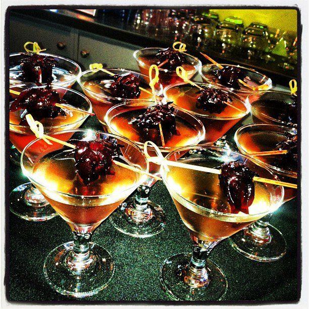 Wild Hibiscus Martini's...Edible Hibiscus Flowers...exotic and delicious!