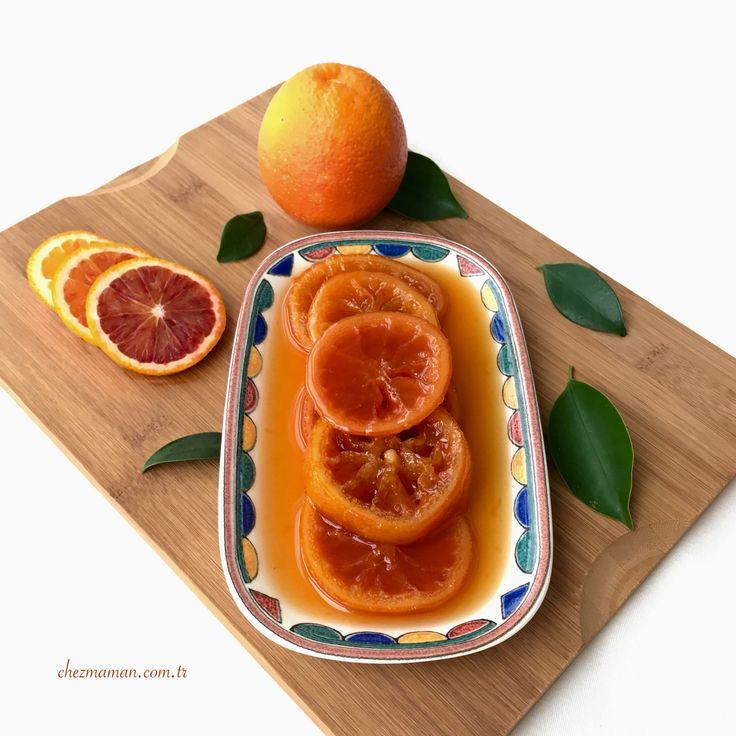 Kan Portakalı Reçeli-Blood Orange Jam