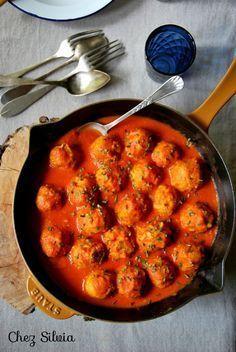 Albóndigas de garbanzos y quinoa. {Receta vegana, sin gluten, sin huevo, sin lactosa} / Chez Silvia