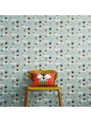 KITE MINT - Wallpaper - Ubaby