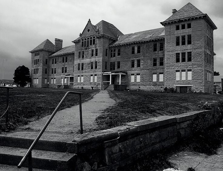 The abandoned former Peoria State Hospital (also known as Bartonville State Hospital, or the Illinois Asylum for the Incurable Insane). It opened in 1902 and closed in 1973.  It is reported to be haunted.  Follow the link for the details.