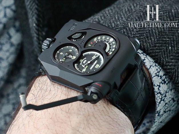 EMC black, URWERK by Haute Time