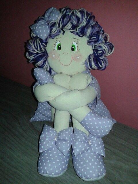 Boneca pernuda ♡.
