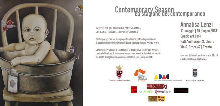 contemporary season  la stagione del contemporaneo 11 maggio 15 giugno 2013 Hall Teatro S.Chiara Trento