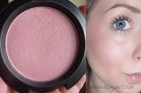 mac well dressed blush. well dressed is one of the best blushes for fair skin with cool undertones.
