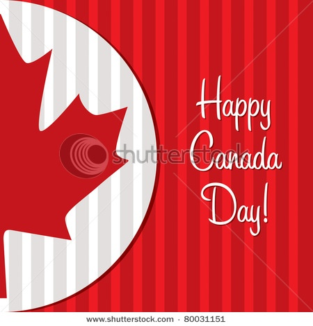 Canada Day card idea