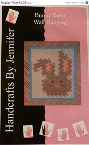 BUNNY TWIST Wall Hanging~Quilting Sewing Pattern Twister~ PT106