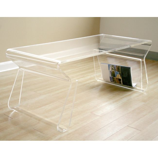 17 best ideas about acrylic coffee tables on pinterest for Used acrylic coffee table