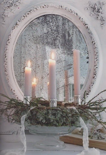 Shabby candles