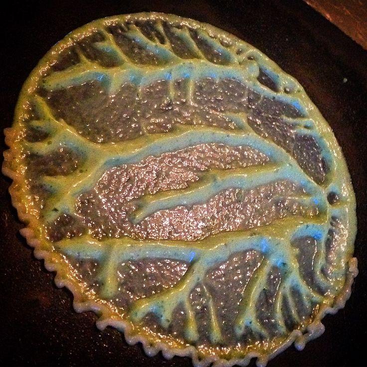 Edible #print Biomar seminar #Seaweed, ramson emulsion,  bitter #lemon