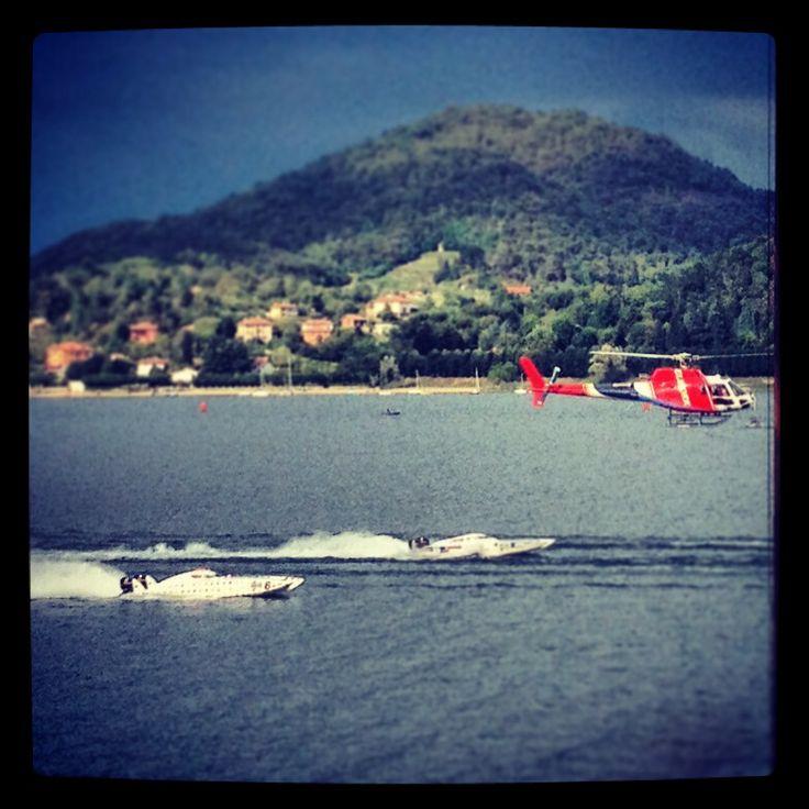 Lake Arona, Italy