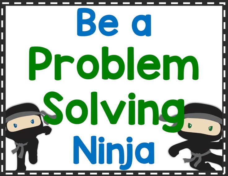 problem solving steps for kids