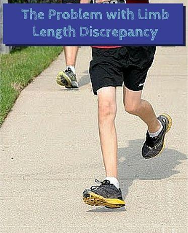 Leg Length Discrepancy Running Shoes