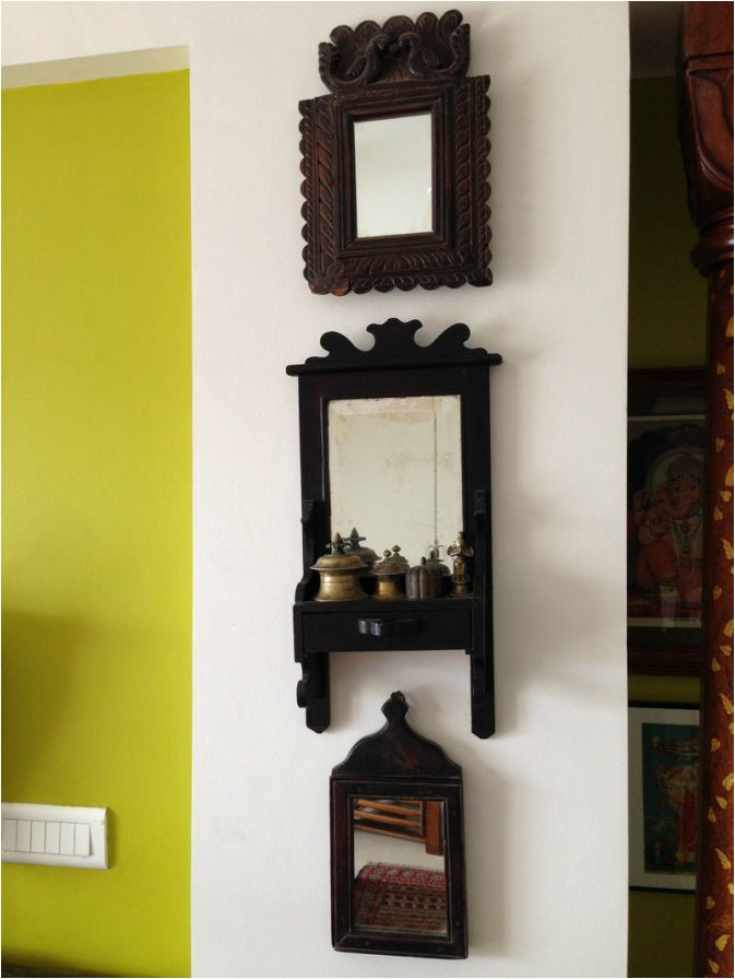 Antique mirrors sanskriti lifestyle pune love the one for Antique home decoration