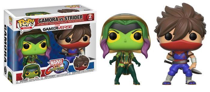 Funko POP Games Marvel vs Capcom 2-Piece Set Gamora vs Strider PREORDER