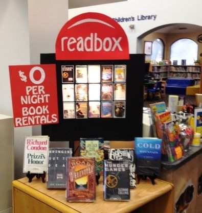 Genius library display idea!!! Even good for high schools! @Heather Creswell Creswell Creswell Creswell Creswell Creswell Creswell Lindsey