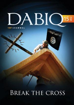 Cover of Dabiq magazine