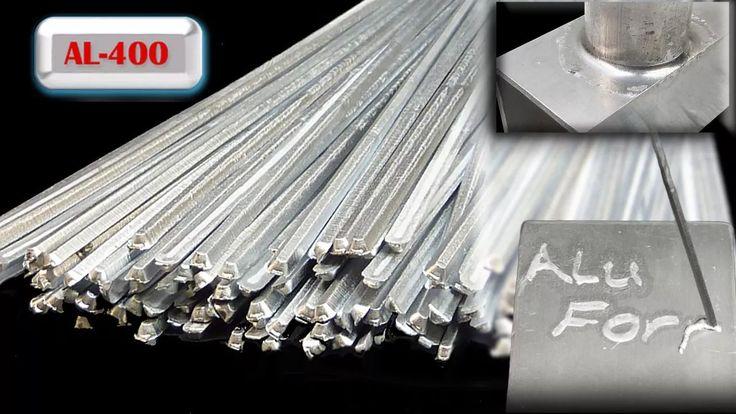 20 varillas para soldar aluminio con soplete, facil y rapido
