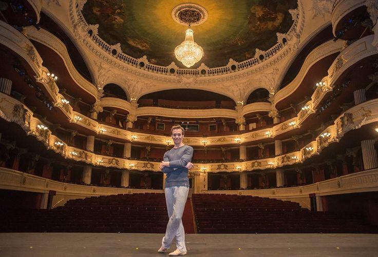 Luis Ortigoza in Teatro Municipal de Santiago