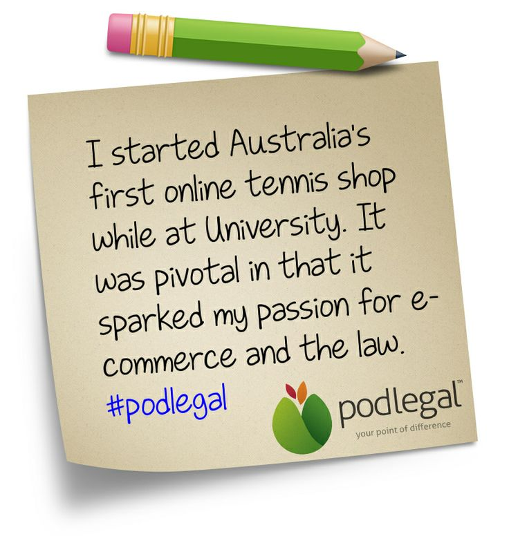 Random Fact #05 about Pod Legal Solicitor Director, Jamie White #podlegal