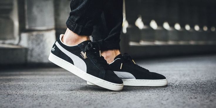 PUMA SUEDE CLASSIC 'RUDOLF DASSLER' PUMA BLACK & PUMA WHITE SNEAKERS ALL SIZES #PUMA #RunningShoes